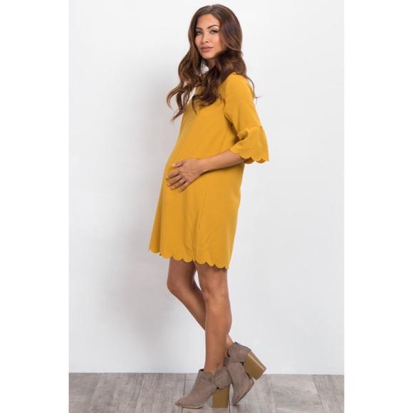 7b8b7a002119e Pinkblush Dresses   Nwt Ruffle Sleeve Scalloped Hem Dress   Poshmark